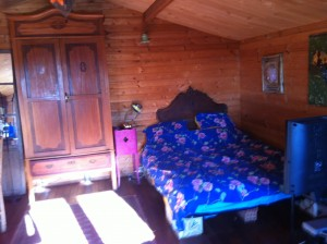 Swiss Cabin bedroom