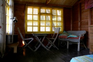 Thai cabin interior 1